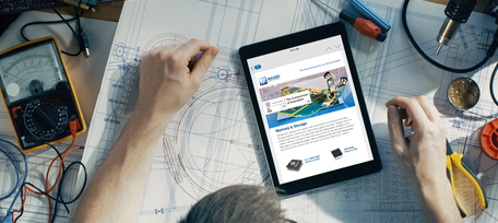 Sign up now for NEW PRODUCT & APPLICATION news