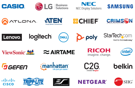 This webcast is supported by our ProAV & Collaboration manufacturer partners.